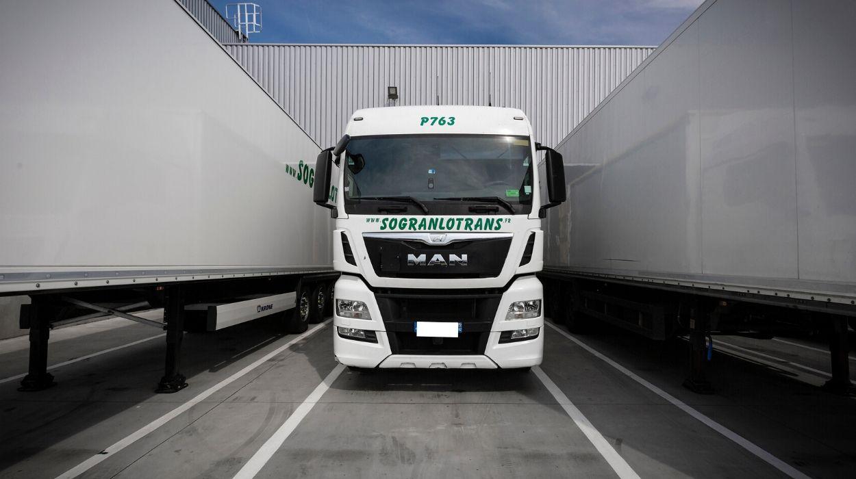 Sogranlotrans Camion tracteur semi remorque
