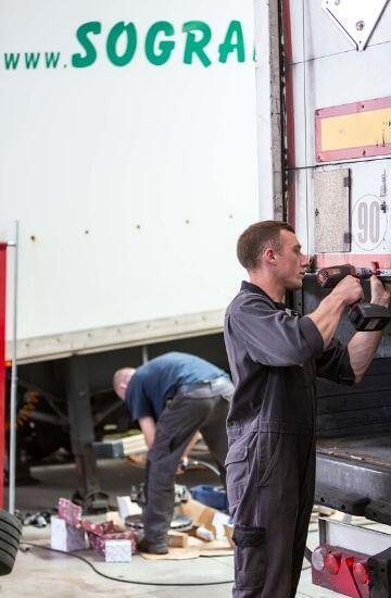 Sogranlotrans garage reparation mecanique camion